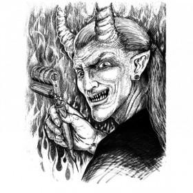 """Иллюстрации к антологии """"Хеллоуин"""""""